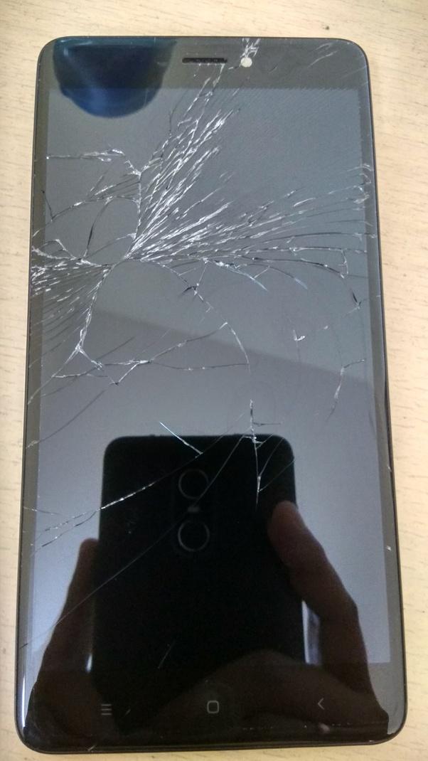 Image result for redmi note 5 pro broken glass