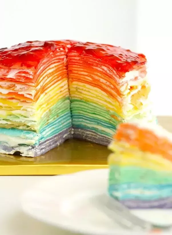 What is a traditional cake or dessert from bulgaria quora 30 layer rainbow mille crepe cake eugenie kitchen not actually bulgarian food forumfinder Gallery