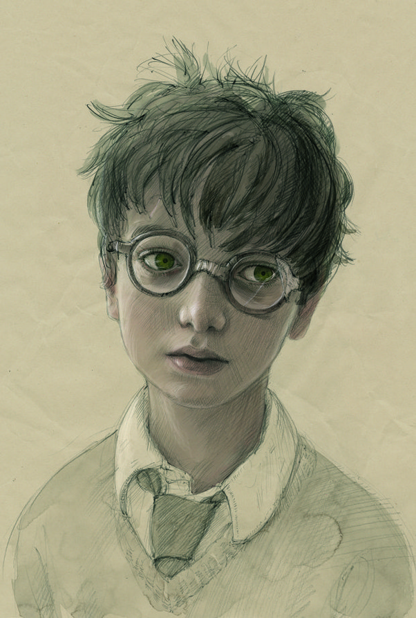 Is Harry Potter supposed to be attractive, even though J K