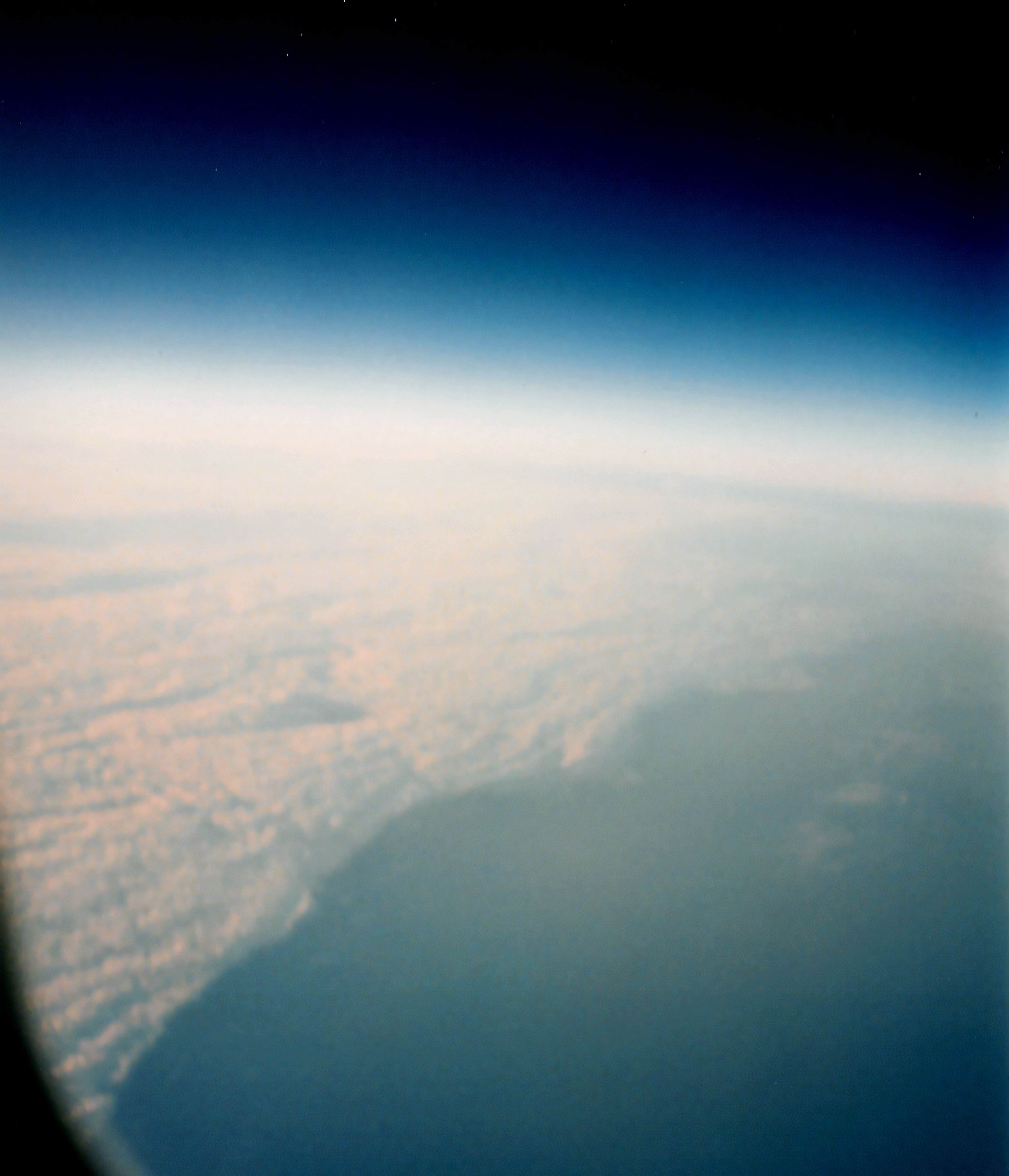 Can you see the Earth curvature from the Concorde? - Quora
