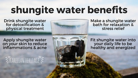 Is shungite water really ok to drink? Can you really benefit