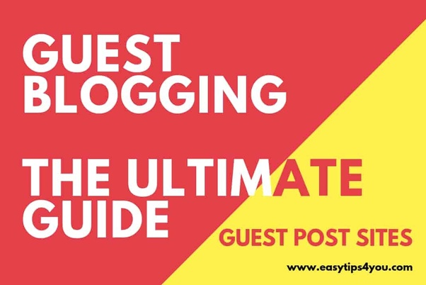 How to find instant guest blogging sites - Quora