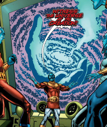 Is The The One-Above-All (Marvel) And The Presence (DC