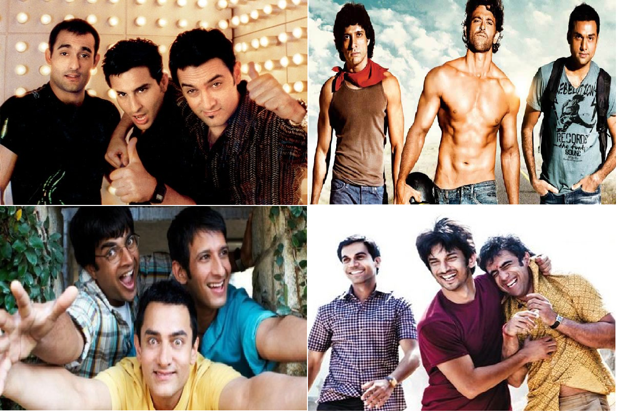 Why are most movies 3-friends stories (3 Idiots, Hangover