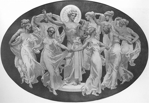 The Nine Muses Were