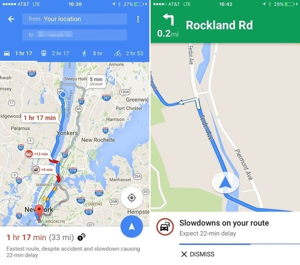 How does Google Maps get to know which route has more traffic, and ...
