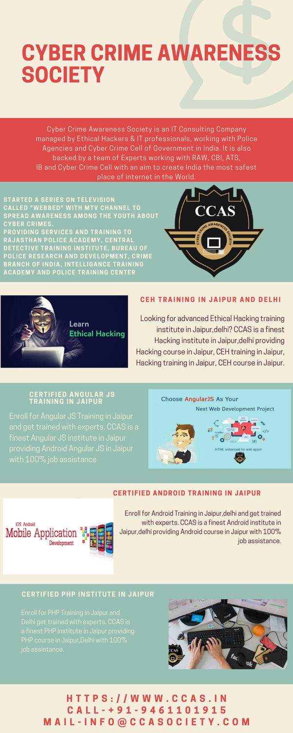 Which is the best ethical hacking institute in Jaipur