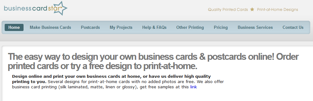 Where Is A Good Place To Design My Own Business Card Online Quora