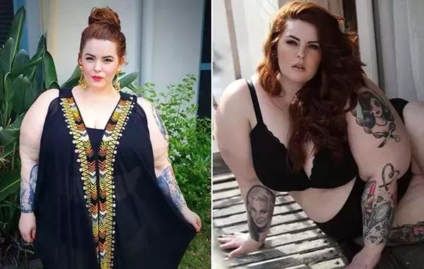Overweight beautiful women