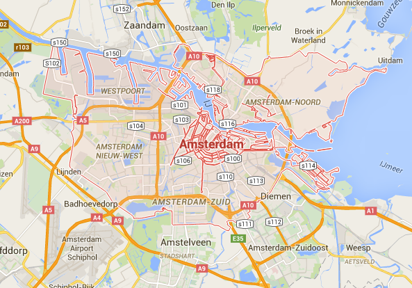 Can Jakarta Ever Become Like Amsterdam In Terms Of Waterflood - Where is amsterdam located