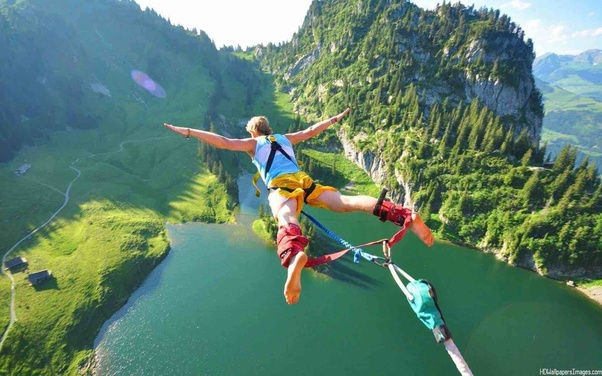 Which places throughout the world are best for bungee