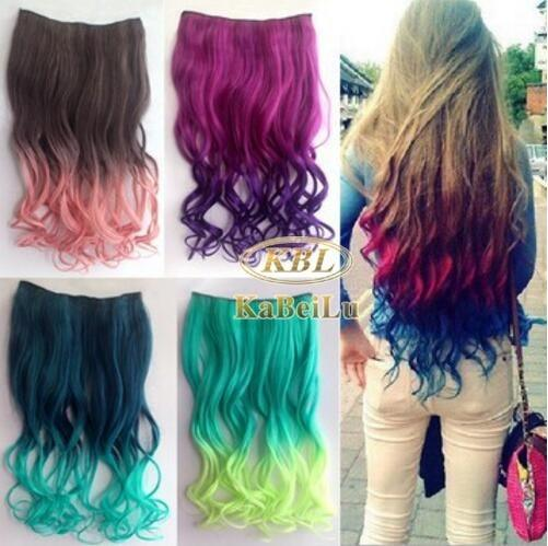Can I dye human hair extensions? - Quora