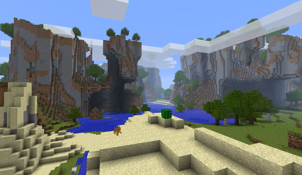 What's the best Minecraft seed you've ever played? - Quora