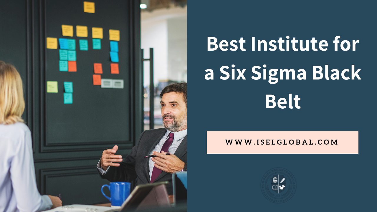 What Is The Best Institute For A Six Sigma Black Belt Quora