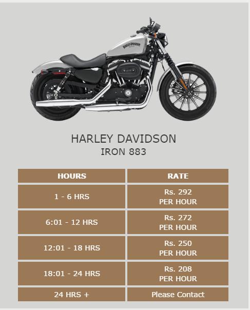 Where Can I Rent A Harley Davidson Bike In Mumbai Quora