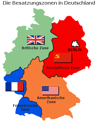 What led to the division of East and West Germany Quora