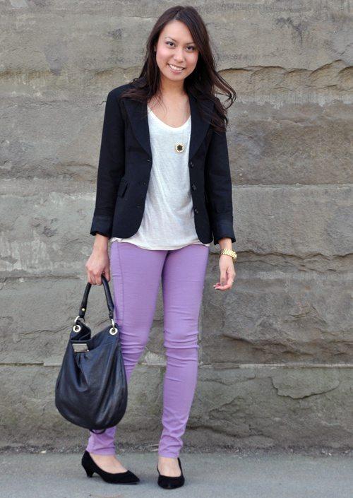 Would you wear purple pants? - Quora