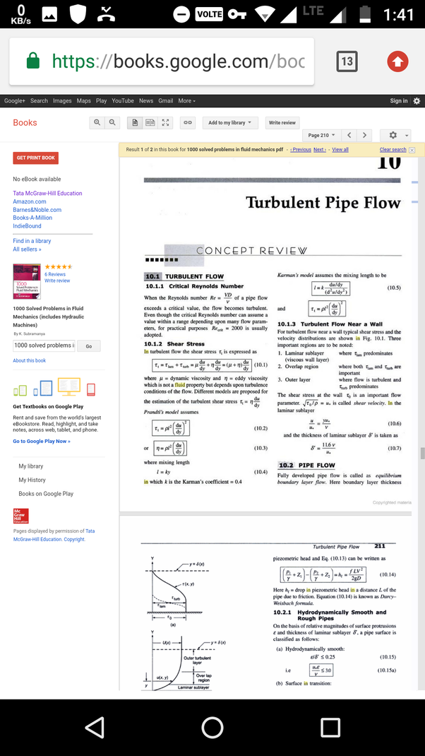 1000 solved problems in fluid mechanics free download