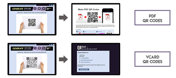 android qr code reader built in