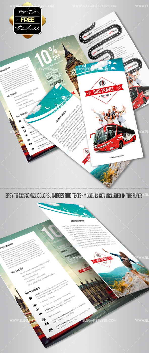 I have a tour and travel website and i would like to make a awesome tri fold travel brochure template in psd pronofoot35fo Choice Image