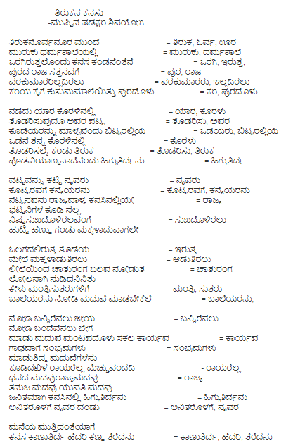 What are some of the most meaningful old Kannada poems? - Quora