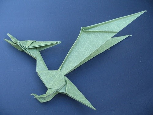 In Origami How Easily Can The Traditional Crane Be Modified Into A