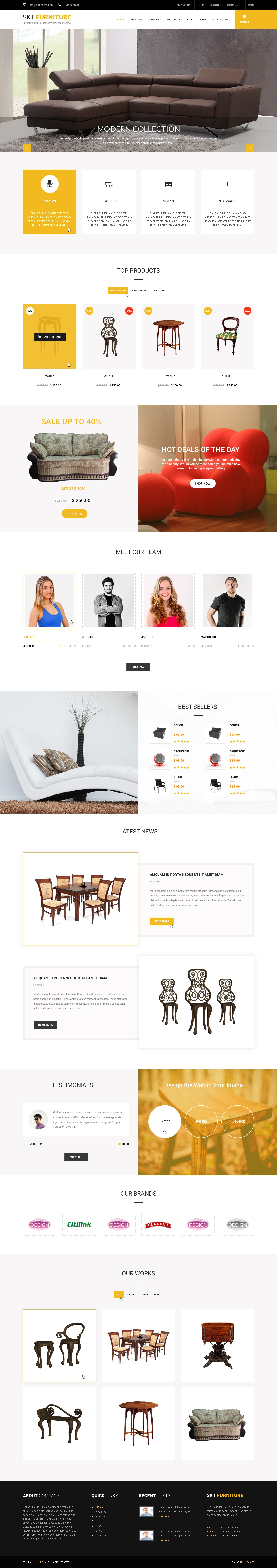 What is the best premium WordPress theme for an online furniture