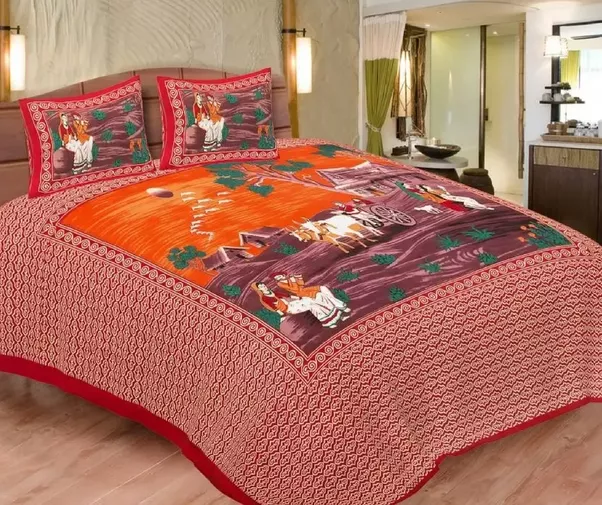 You Can Buy These Beautiful Bed Sheets At An Affordable Prices. The Best  Part That Silkrute Provides You Free Shipping All Over India.