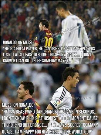 Why Does Messi Hate Cristiano Ronaldo Quora