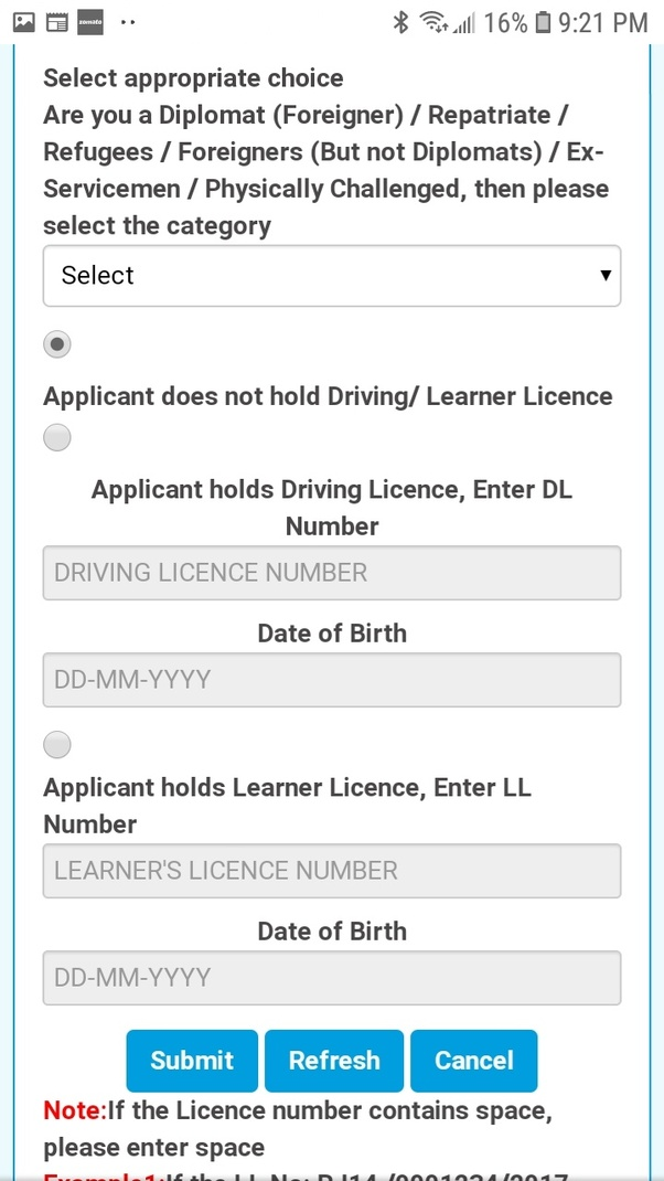 What is the procedure to apply for a permanent driving
