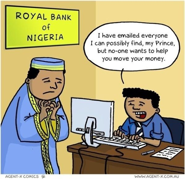 how does the nigerian prince scam work quora rh quora com Money Transfer Scams how do money wiring scams work