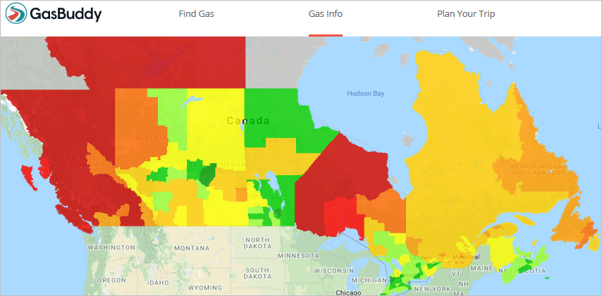 Why is gasoline so much more expensive in Canada than in the ... Gas Price Heat Map on gas prices by state map, gas price calendar, indy gas prices map, chicago gas prices map, gas price map usa, gas price charts, world gas prices map, twin city gas prices map, gas price per gallon, gas price temperature map, gas price statistics, gas price temp map, united states county map, average winter temperature us map, missouri gas prices map, diesel prices by state map, gas price trends 2012, gas price line graph, gas price scatter plot, gas price average,