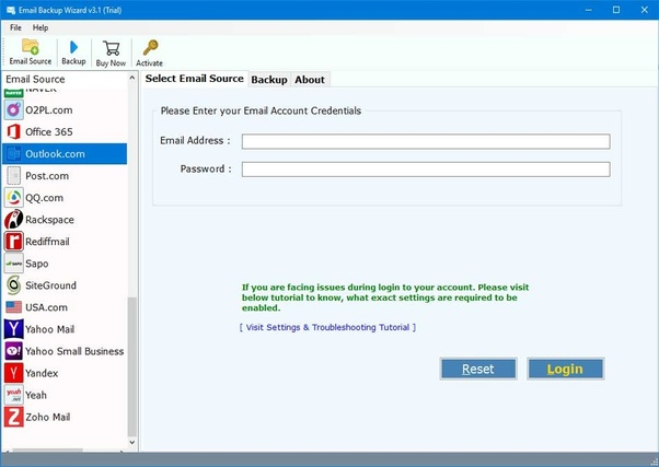 How to download all emails from my Hotmail/Outlook account