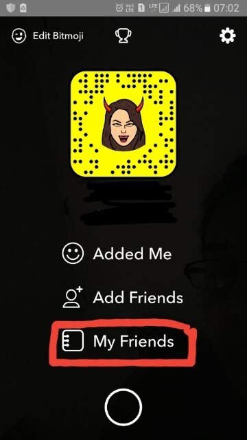 how to re add someone on snapchat