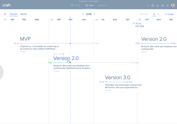 roadmaps multiple product view