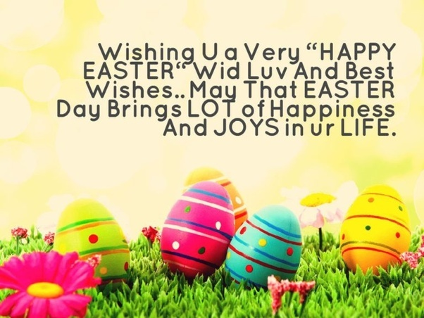 Is it fine to wish happy easter quora easter teaches us the meaning of faith and what it is to feel the lords blessing in our lives m4hsunfo