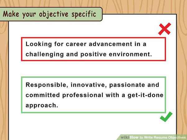 What Are The Best Career Objectives In A Resume For A Fresher Quora