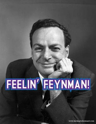 dr richard p feynman essay Tulane professor channels richard feynman to challenge climate change 32 comments posted by admin on may 17, 2012 in technical issues | 32.