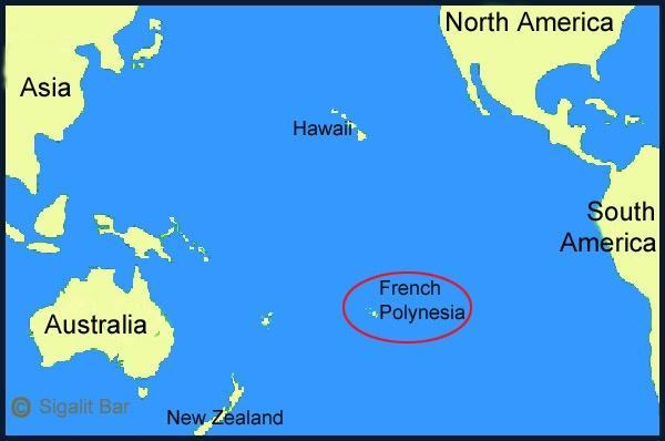 Where is Tahiti? - Quora