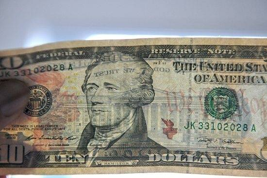 Old 20 Dollar Bill Grover Cleveland