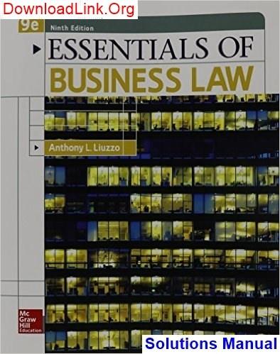 Of pdf law essentials business