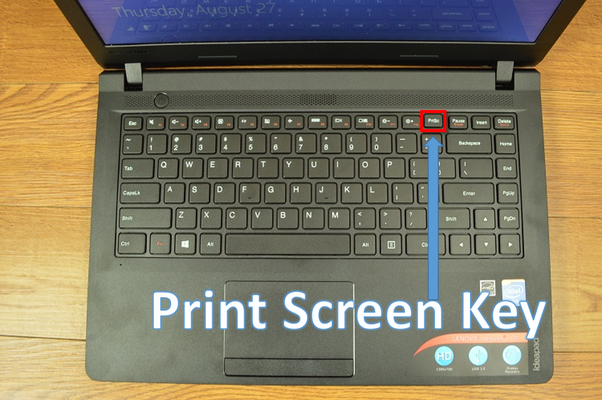 How to take a screenshot on my lenovo ideapad 100s are there free step 2 press print screen button it copies the screen shot in the clip board ccuart Choice Image