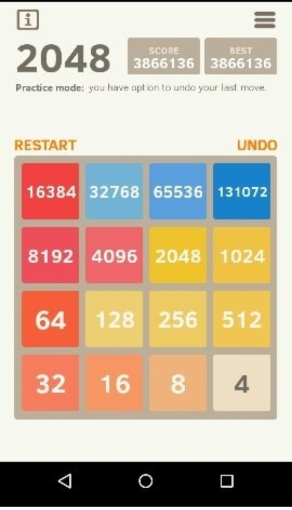 What is your highest score in 2048 game? - Quora