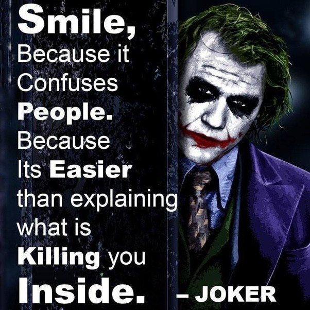 Which Are The Joker's Best Quotes?