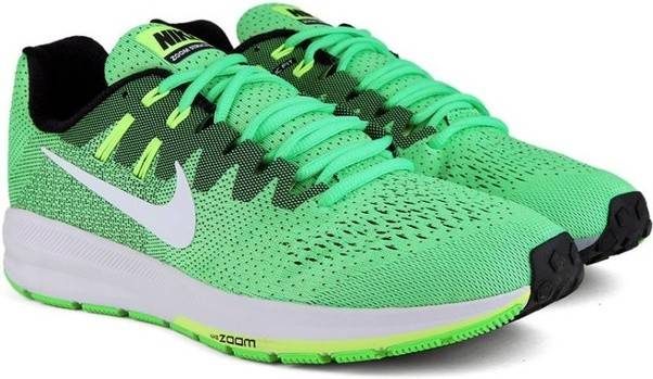 Nike AIR ZOOM STRUCTURE 20 Running Shoes - Buy ELECTRO  GREEN/WHITE-BLACK-GHOST GREEN Color Nike AIR ZOOM STRUCTURE 20 Running Shoes  Online at Best Price ...