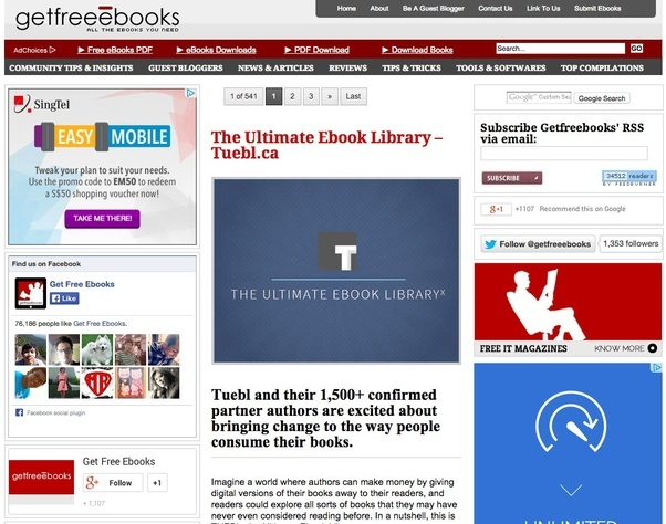 Where can i get online pdf or epub versions of books quora getfreeebooks is a free ebooks site where you can download free books totally free all the ebooks within the site are legal downloadable free ebooks fandeluxe Choice Image