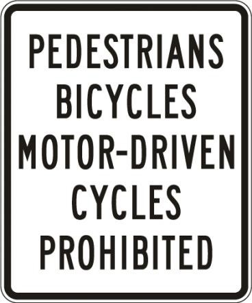What type of scooters/motorcycles are allowed on California