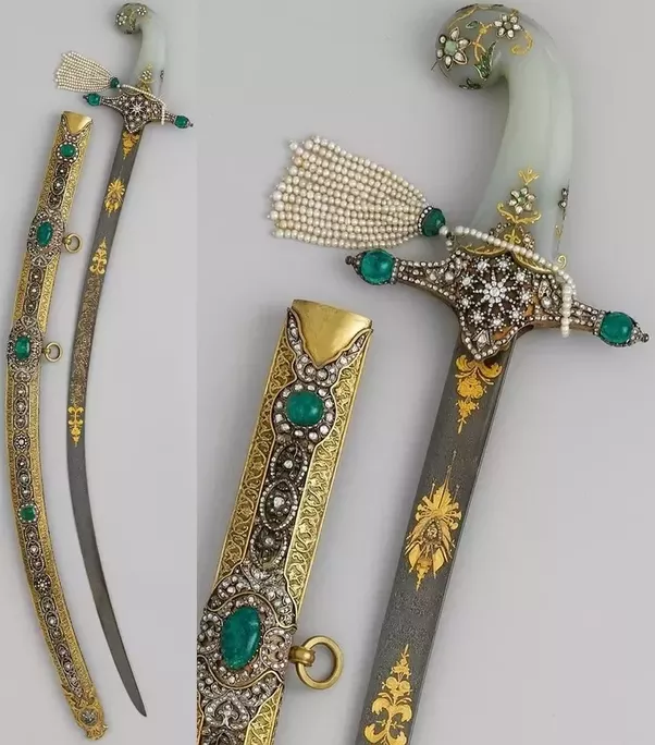 can swords be made of gemstone quora