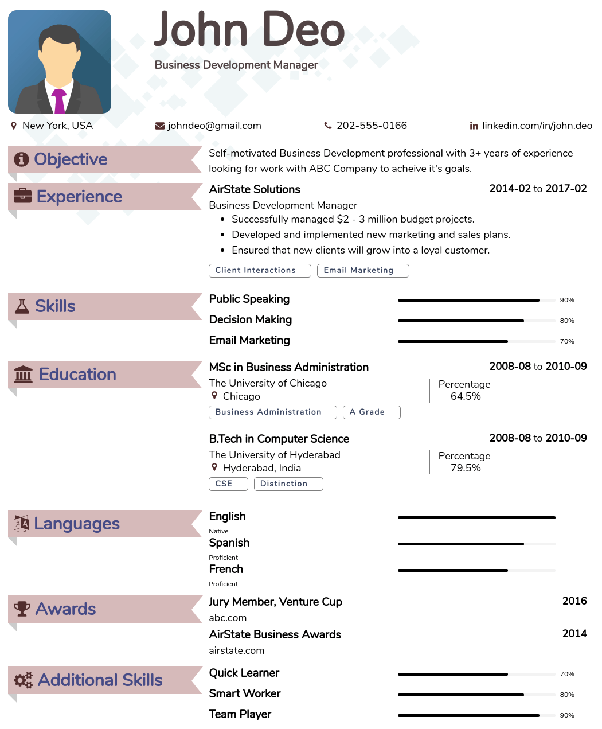 Where Can One Find Some Good Resume Cv Templates Quora