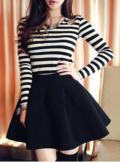 Short Circle Skirt Dress